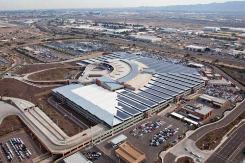 Phoenix Airport Dedicates 5.4-MW Solar Power System