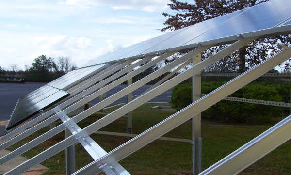 MAGE SOLAR: Systemtec Ground Mounting System
