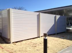 AcoustiFiber Barrier Reduces Solar Energy Operation Noise
