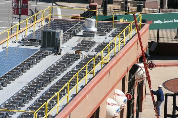 St. Louis Cardinals Energize Busch Stadium with Solar