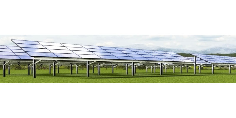 Schletter: All-Steel PV Mounting System
