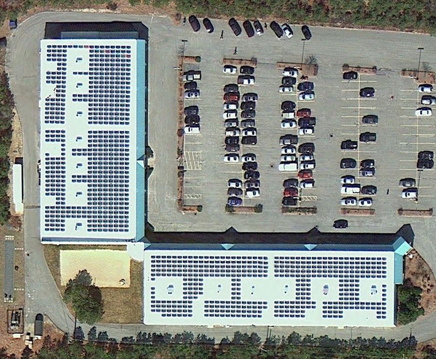 Cape Cod now has 225-kW Roof Mounted System