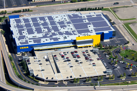 IKEA Installs Minnesota's Largest Solar Array