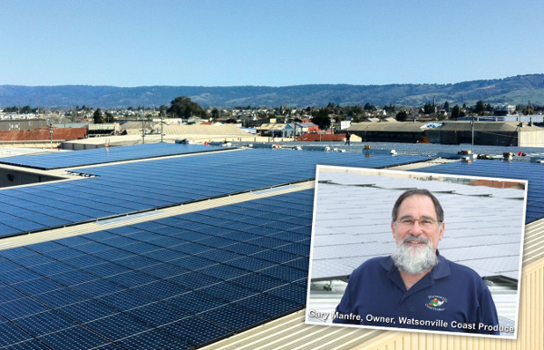 Produce Distributor Installs 740-kW Solar Power System