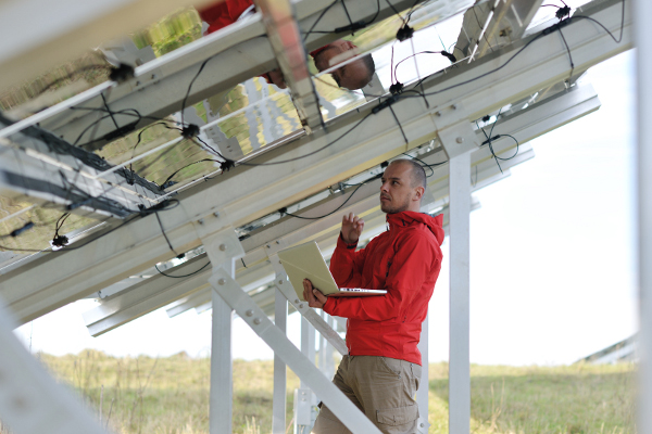 Cable Management Solar Builder