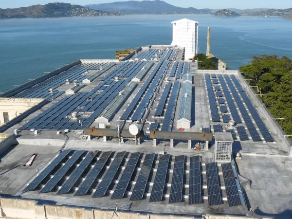 Escape from (Fossil Fuels at) Alcatraz