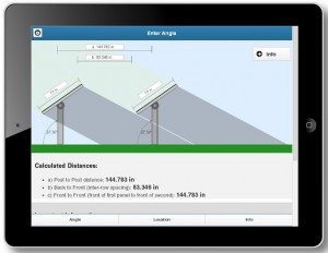 New App from RBI Solar Helps Calculate Row Spacing