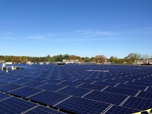 855-kW Roof-Mount Solar System Complete at Nice-Pak Products