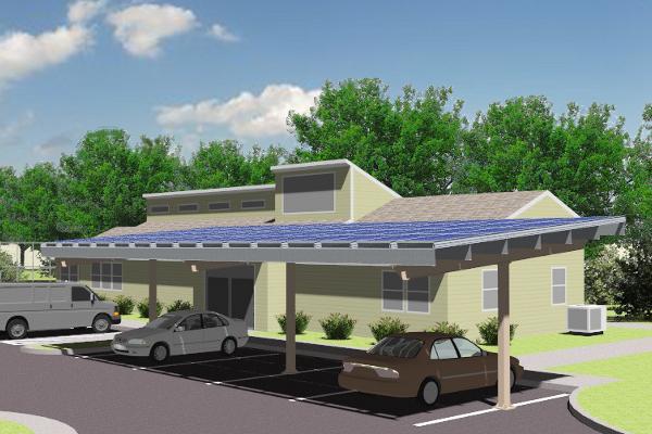 Carport Solar Racking