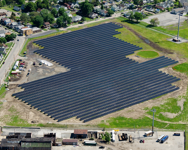 Rudolph/Libbe Installs 2.1-MW Solar Array for Ohio Zoo