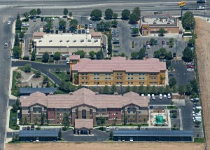 REC Solar Installs 102-kW Array at Hampton Inn & Suites in California