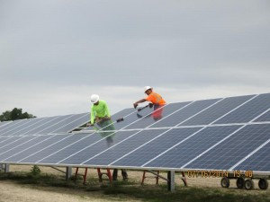 Strata Solar Finishes Three Utility-Scale Solar Farms in North Carolina