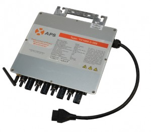 APS Now Shipping New Three-Phase Microinverter