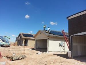 Border solar to install roof tech mounting systems on new for New housing developments in el paso tx