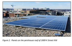 Bright Future for Nation's Capitol Office Building, Launches Largest Solar Array of It's Kind