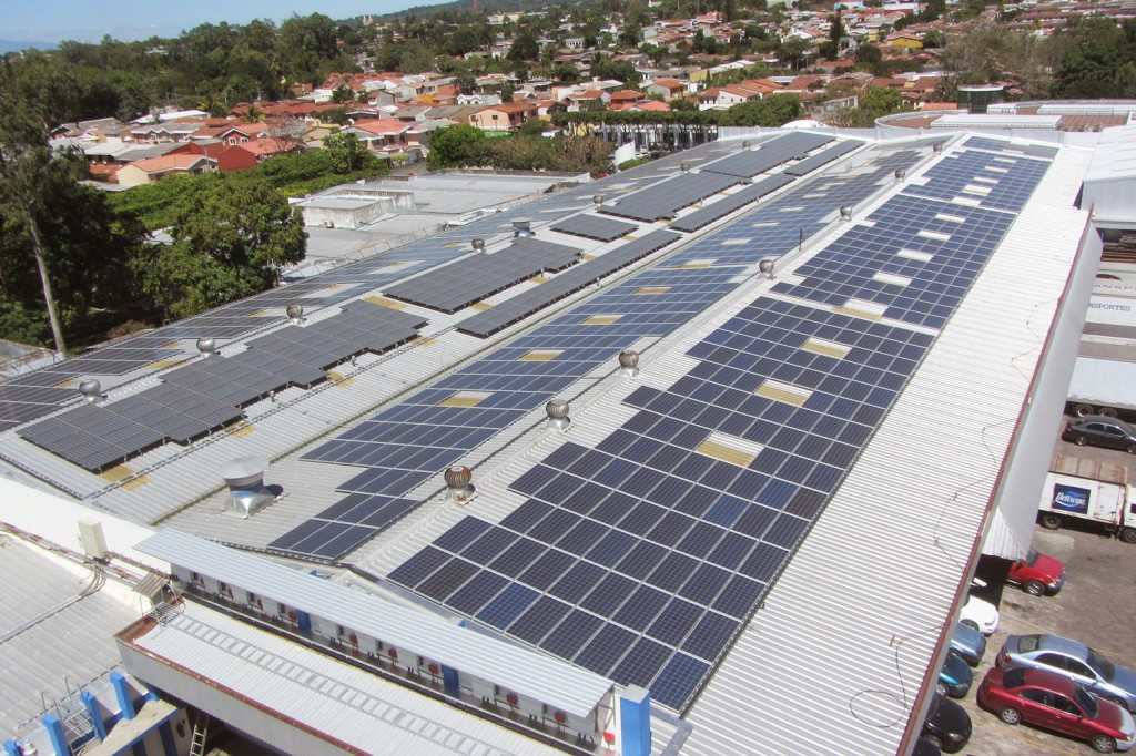 −The PV plant was developed Martifer Solar's local partner, DESENI and was built for one of El Salvador's leading distribution companies, DISZASA