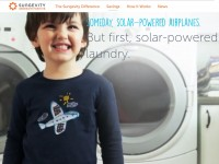 Sungevity's new brand marketing campaign invokes the public's desire to see a future powered by solar energy. (PRNewsFoto/Sungevity, Inc.)