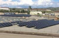 Solar FlexRack provides racking system for naval station