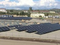 Solar FlexRack provides racking system for naval station