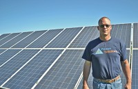 Scott Griffin (pictured) and Janet Miller,  owners of G6 Power Solutions, create a broad reach by training more people to install systems.
