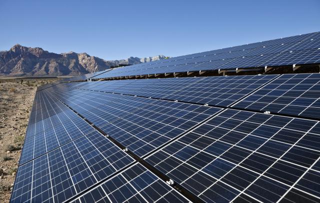 Nevada solar utility