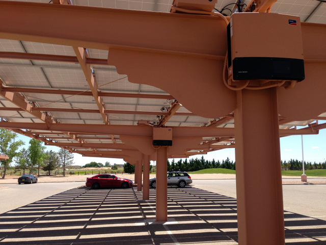 Osceola energy carport