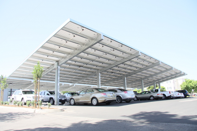 Solar carports to spread across the country as costs decline for Carport construction costs