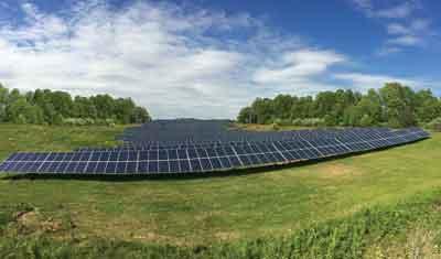 DC Solar Modurack mounting
