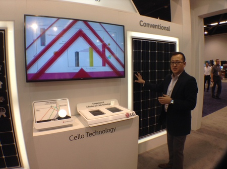 Lg S Lineup Of High Efficiency Neon Panels Make Debut At Spi