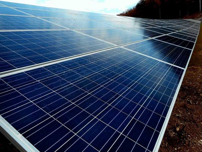 Nexamp community solar construction