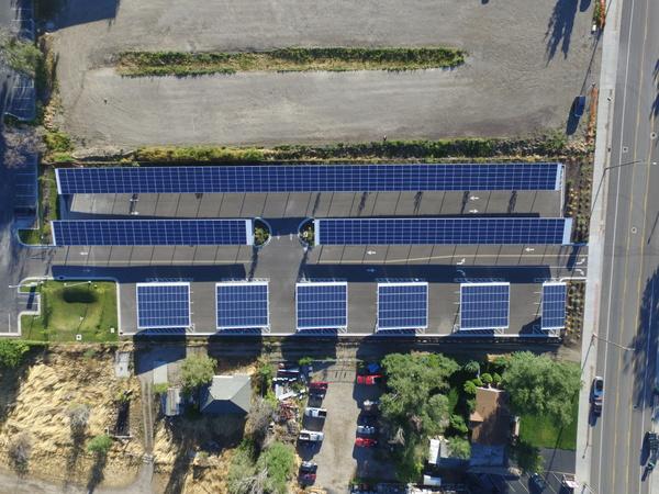 Utah solar array