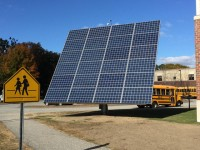 Maine school turns to solar for power and science education