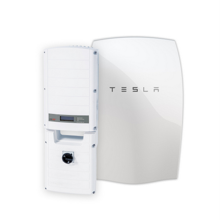 StorEdge Tesla solar battery storage