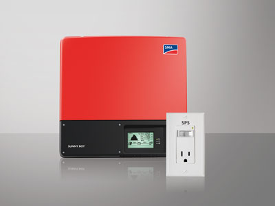 SMA's Sunny Boy has a Secure Power Supply feature that can provide up to 1,500 W of daytime standby power.