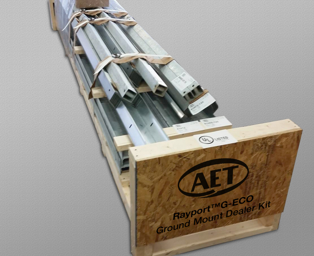 AET ground mount dealer kit