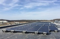 Allianz Energy Madison HQ goes with rooftop ballast mounting from Sollega
