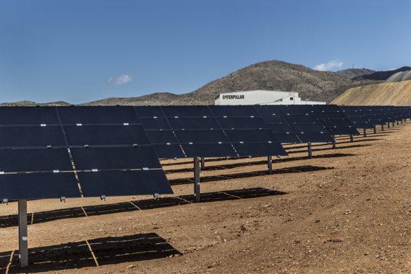 Caterpillar - Tucson Proving Ground - Solar Panel Tilt