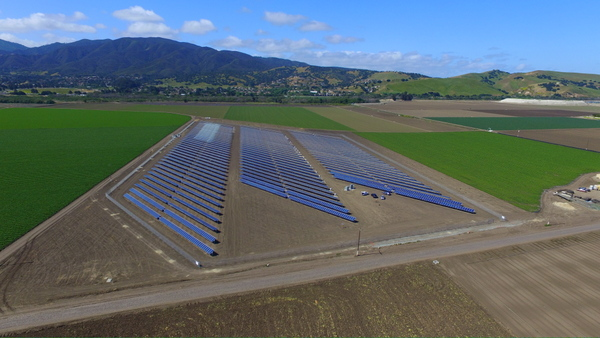 California grower solar