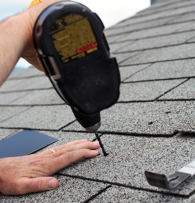 Experts share tips for mounting on composition shingle, tile, slate and metal residential roofs