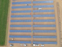 A 480-kW solar system provides electricity for a vegetable farming operation located in San Luis Rio Colorado, Sonora, Mexico.