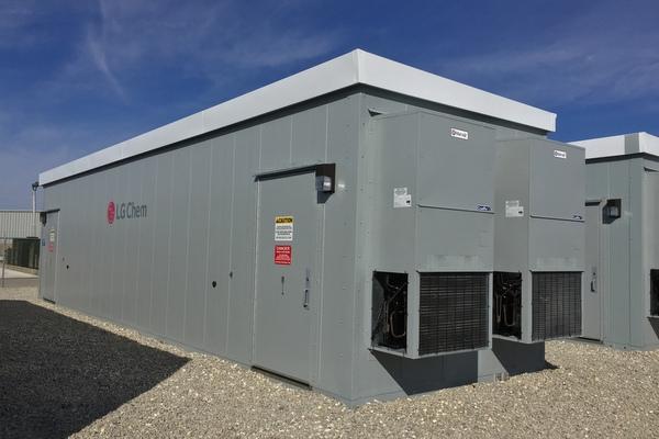 LG Chem solar storage