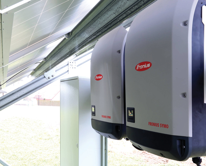 Fronius featuring entire inverter lineup, giveaways