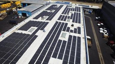 Baker Electric rooftop