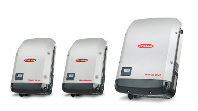 Fronius string inverters optimizers