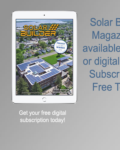 Subscribe to Solar Builder Digital