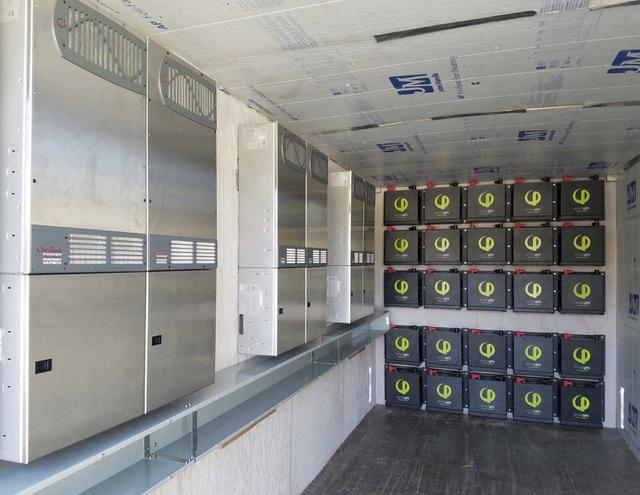 solar plus storage microgrid