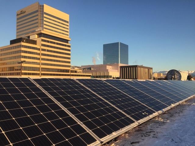 Arctic solar ventures