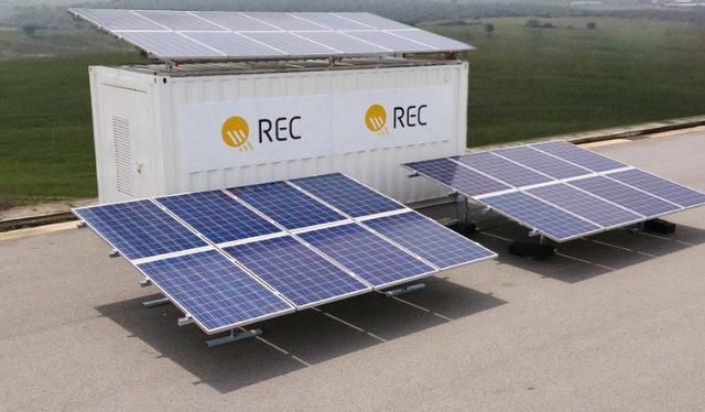REC PERC modules