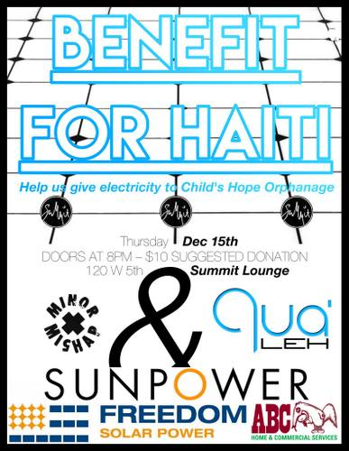 sunpower freedom solar haiti