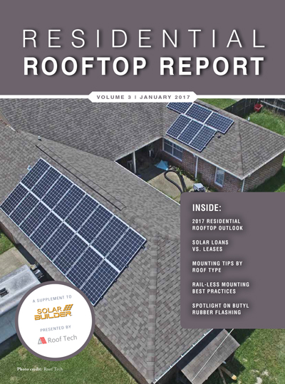 2017 Residential Rooftop Report, sponsored by Roof Tech